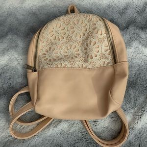 Art Class mini backpack with lace detail